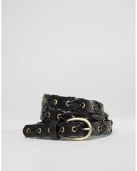 schwarzer Gürtel von Glamorous