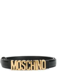 schwarzer Gürtel von Moschino