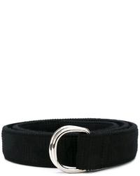 schwarzer Gürtel von Thom Browne