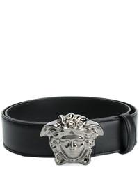 schwarzer Gürtel von Versace