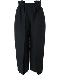 schwarzer Hosenrock aus Seide von Fendi