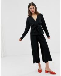 schwarzer Hosenrock von Ichi