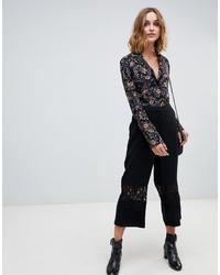 schwarzer Hosenrock von Vero Moda