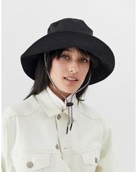 schwarzer Hut von ASOS DESIGN