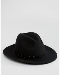 schwarzer Hut von Asos