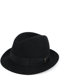 schwarzer Hut von Borsalino