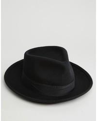 schwarzer Hut von Brixton