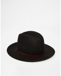 schwarzer Hut von Catarzi