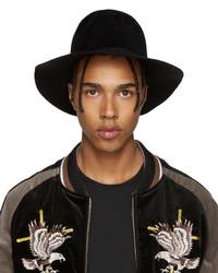 schwarzer Hut von Diet Butcher Slim Skin