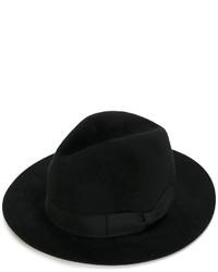 schwarzer Hut von Ermanno Scervino