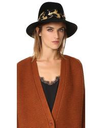 schwarzer Hut von Eugenia Kim