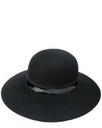 schwarzer Hut von Lanvin