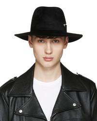 schwarzer Hut von Larose
