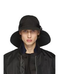 schwarzer Hut von Sacai
