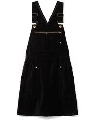 schwarzer Jeans Kleiderrock von McQ Alexander McQueen