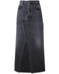 schwarzer Jeansrock von Golden Goose Deluxe Brand