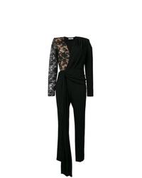 schwarzer Jumpsuit aus Spitze von Givenchy