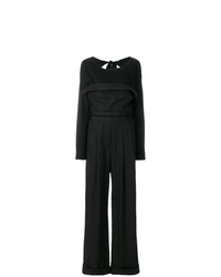 schwarzer Jumpsuit von Alexander Wang