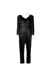 schwarzer Jumpsuit von Fendi