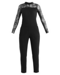 schwarzer Jumpsuit von KIOMI