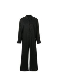 schwarzer Jumpsuit von MM6 MAISON MARGIELA