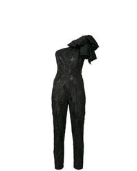 schwarzer Jumpsuit von MSGM