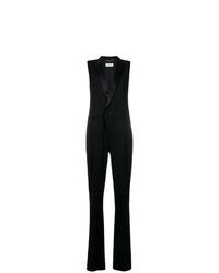 schwarzer Jumpsuit von Saint Laurent