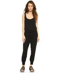 schwarzer Jumpsuit von Splendid