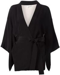 schwarzer Kimono von Fleur Du Mal