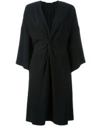 Schwarzer Kimono von Rosetta Getty