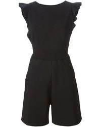 schwarzer kurzer Jumpsuit von Valentino