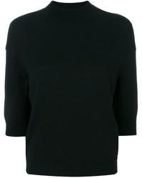schwarzer kurzer Pullover von Giambattista Valli