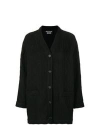 schwarzer lange Strickjacke von Boutique Moschino