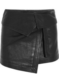 schwarzer Leder Minirock von Isabel Marant