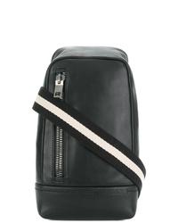 schwarzer Leder Rucksack von Bally