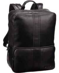 schwarzer Leder Rucksack von Bree