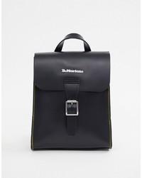 schwarzer Leder Rucksack von Dr. Martens