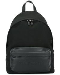 schwarzer Leder Rucksack von Givenchy