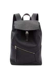 schwarzer Leder Rucksack von Loewe