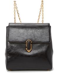 schwarzer Leder Rucksack von Marc Jacobs