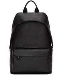 schwarzer Leder Rucksack von McQ