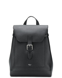 schwarzer Leder Rucksack von Mulberry