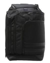 schwarzer Leder Rucksack von Replay