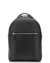 schwarzer Leder Rucksack von Salvatore Ferragamo