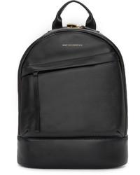 schwarzer Leder Rucksack von WANT Les Essentiels