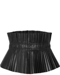 schwarzer Leder Taillengürtel von Isabel Marant