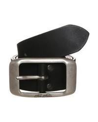 schwarzer Ledergürtel von Tom Tailor
