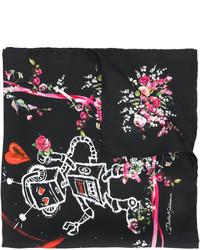 schwarzer leichter Schal von Dolce & Gabbana