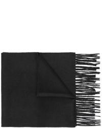 schwarzer leichter Schal von Gucci