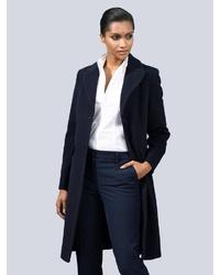 schwarzer Mantel von Alba Moda